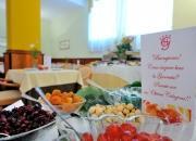 frutta secca in sala colazioni