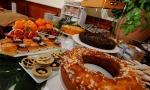 il buffet della sala colazioni