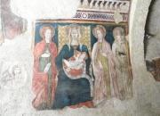 Affreschi dell'eremo di Santa Maria Giacobbe a Pale