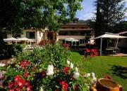 il giardino interno all'hotel