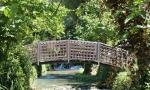 il fiume menotre che attraversa il parco