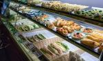 La vetrina snack del Guesia Bar