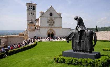 Basilica Assisi - Guesia