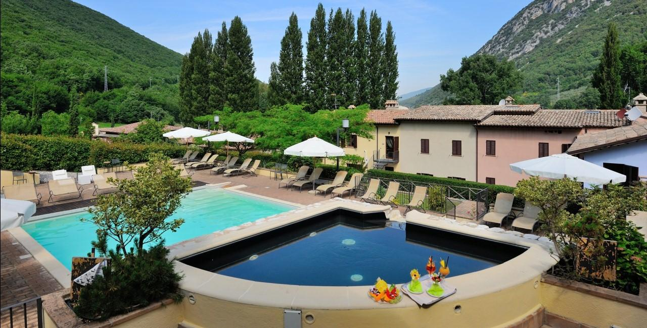 Guesia Village Hotel Spa Foligno Umbria Italy