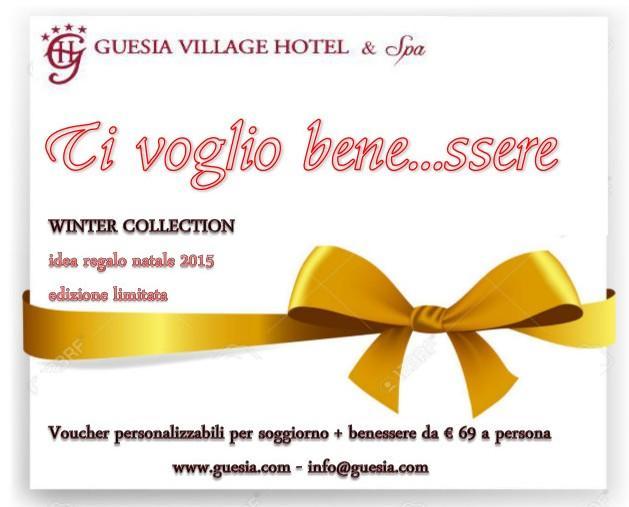 Guesia Village Hotel & Spa**** | voucher regalo PACCHETTI ...